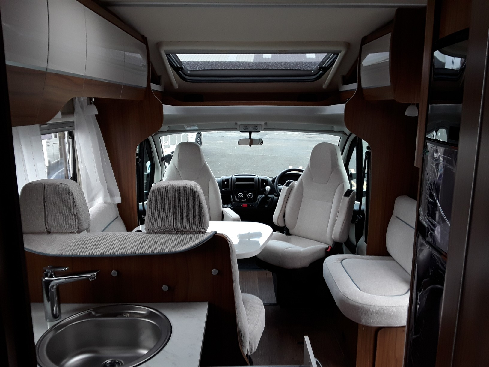 Fiat Ducato Hymer T698 Cl Donaghey Motorhomes